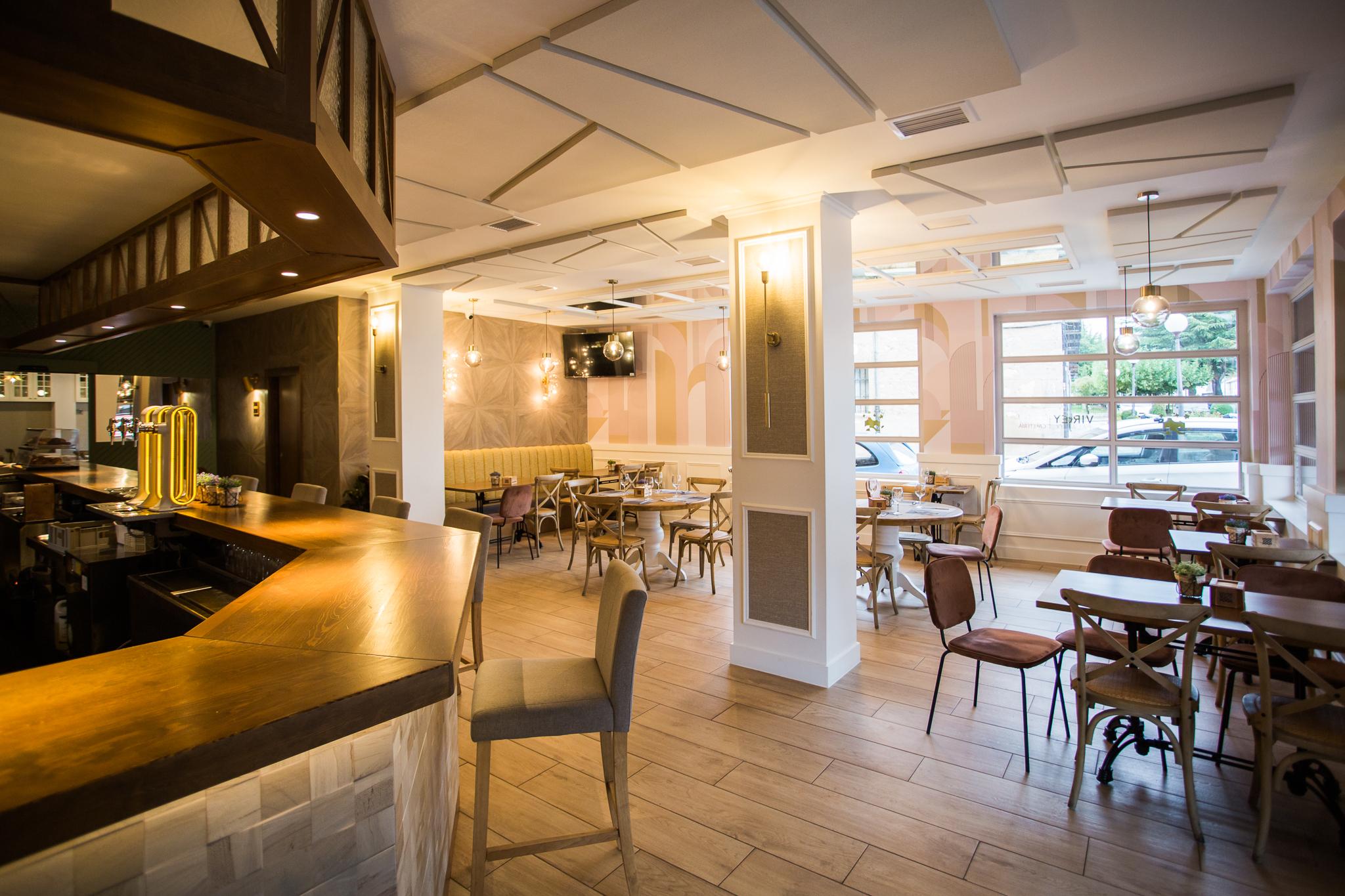 Cafetería del Restaurante Virrey Palafox