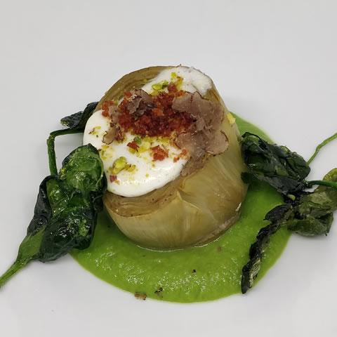 platos del restaurante Virrey Palafox