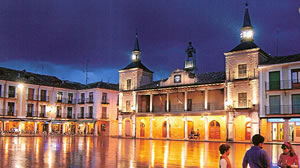 plaza mayor El Burgo de Osma