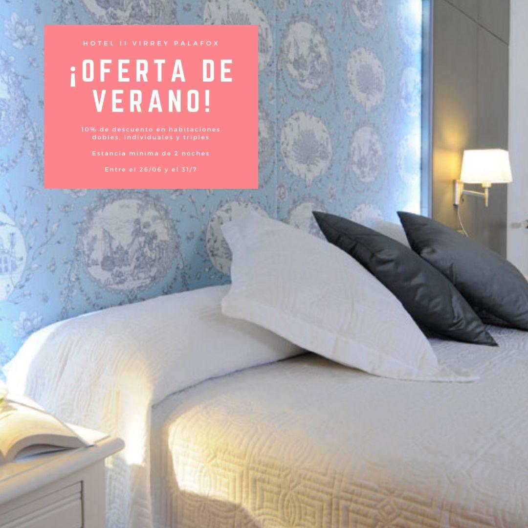 Ofertas Hotel Virrey Palafox - Verano